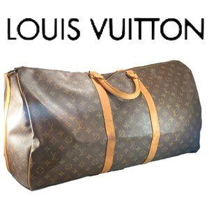 Vintage LOUIS VUITTON Monogram Bandouliere 60 Bag